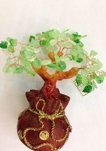 Дерево самоцветное в мешке (17см)