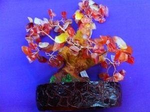 Дерево самоцветное (18см)