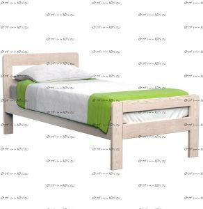 Кровать Кредо МЛПД DreamLine (с 2 спинками)