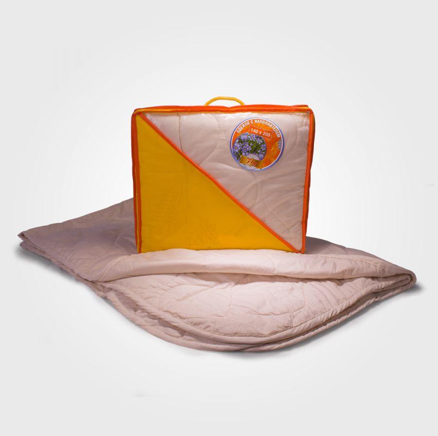 Одеяло лён в микрофибре, облегченное
