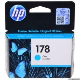 Картридж струйный HP №178 CB318HE голубой 300стр.