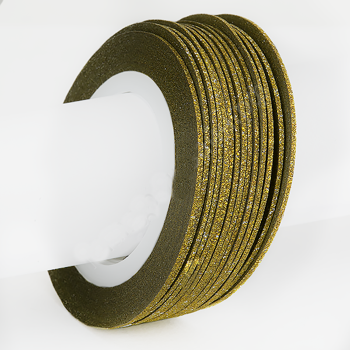Лента для дизайна 1 мм Golden №1