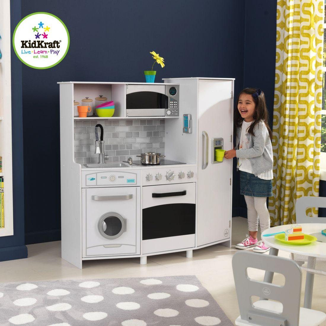 Детская кухня со светом и звуком KidKraft 53369