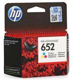 Картридж  оригинальный F6V24AE  HP 652 Tri-colour (Цветной) Ink Cartridge