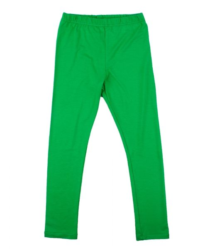 Зеленые лосины для девочки