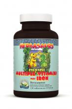 «Витазаврики» жевательные витамины с железом