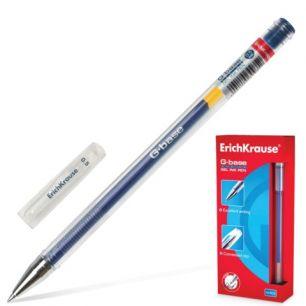 """Ручка гелевая ERICH KRAUSE """"G-BASE"""", толщина письма 0,5 мм, синяя, 30935"""