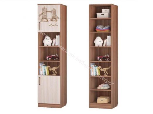 """Шкаф для книг """"Вояж"""" с 2-мя дверками"""