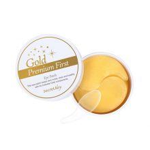 Gold Premium First Eye Patch Патчи для глаз с золотом, 60 шт