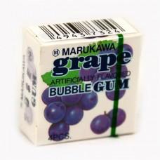 Жевательная резинка Marukawa Grape (Марукава) со вкусом винограда 4 шарика