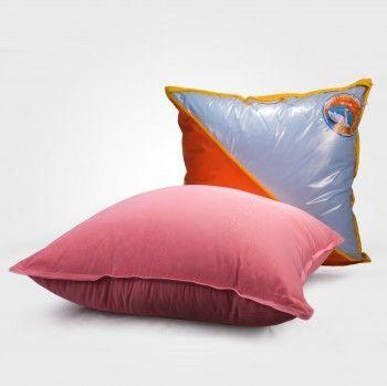 Подушка лебяжий пух-микрофибра