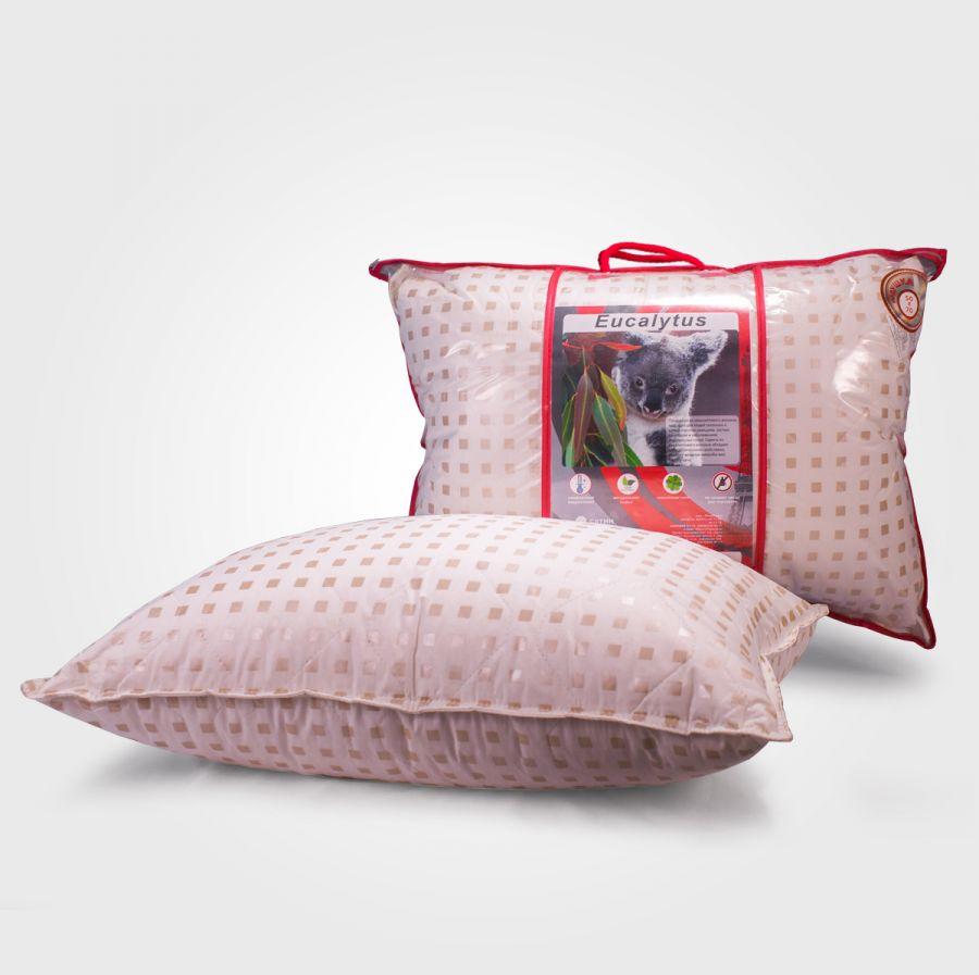 Подушка эвкалипт в тике