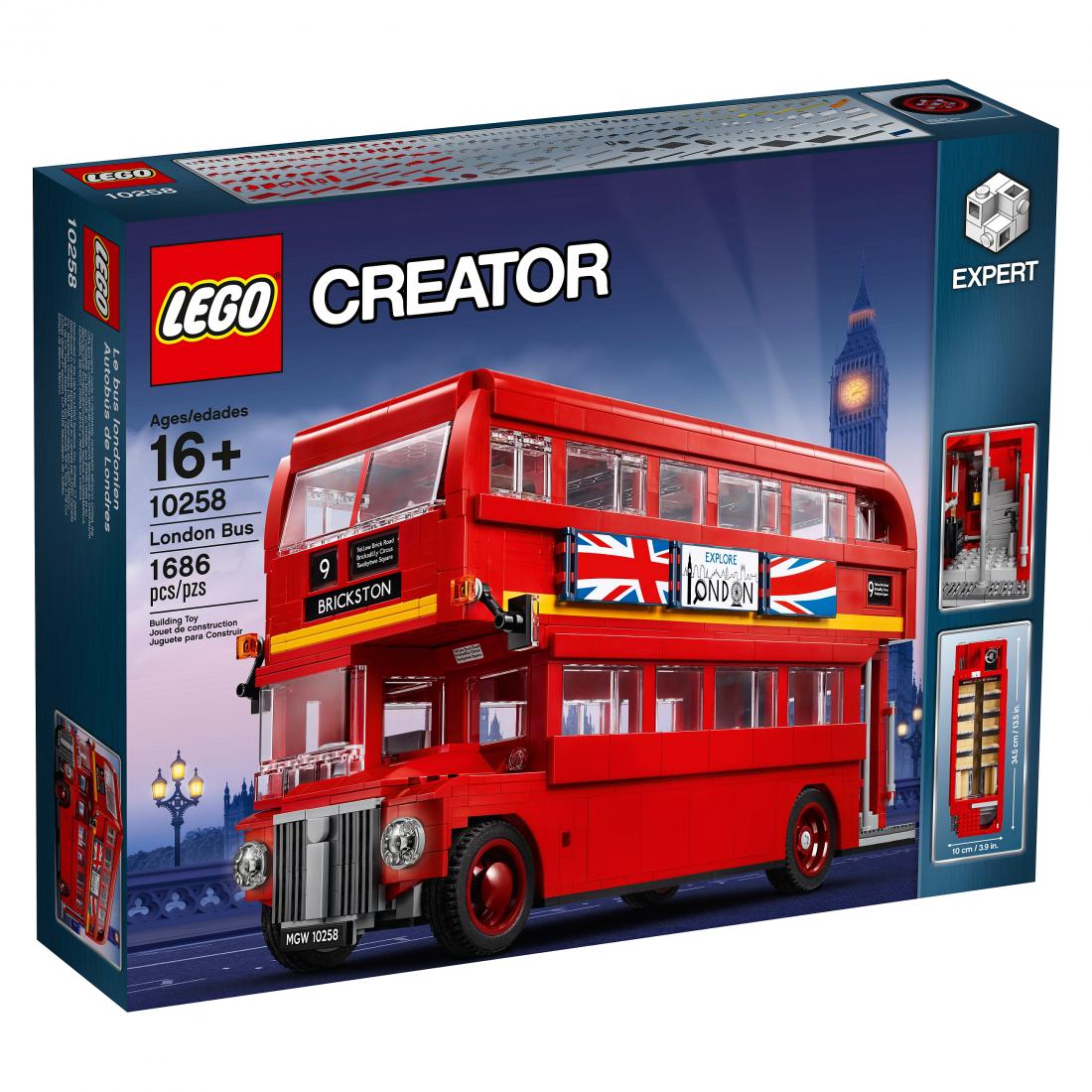 Лондонский Автобус. Конструктор ЛЕГО 10258