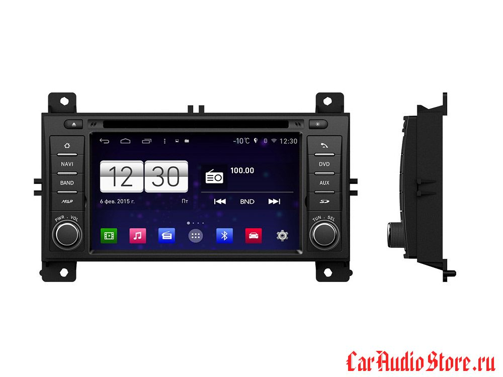FarCar s160 для Jeep Grand Cherokee на Android (m263)