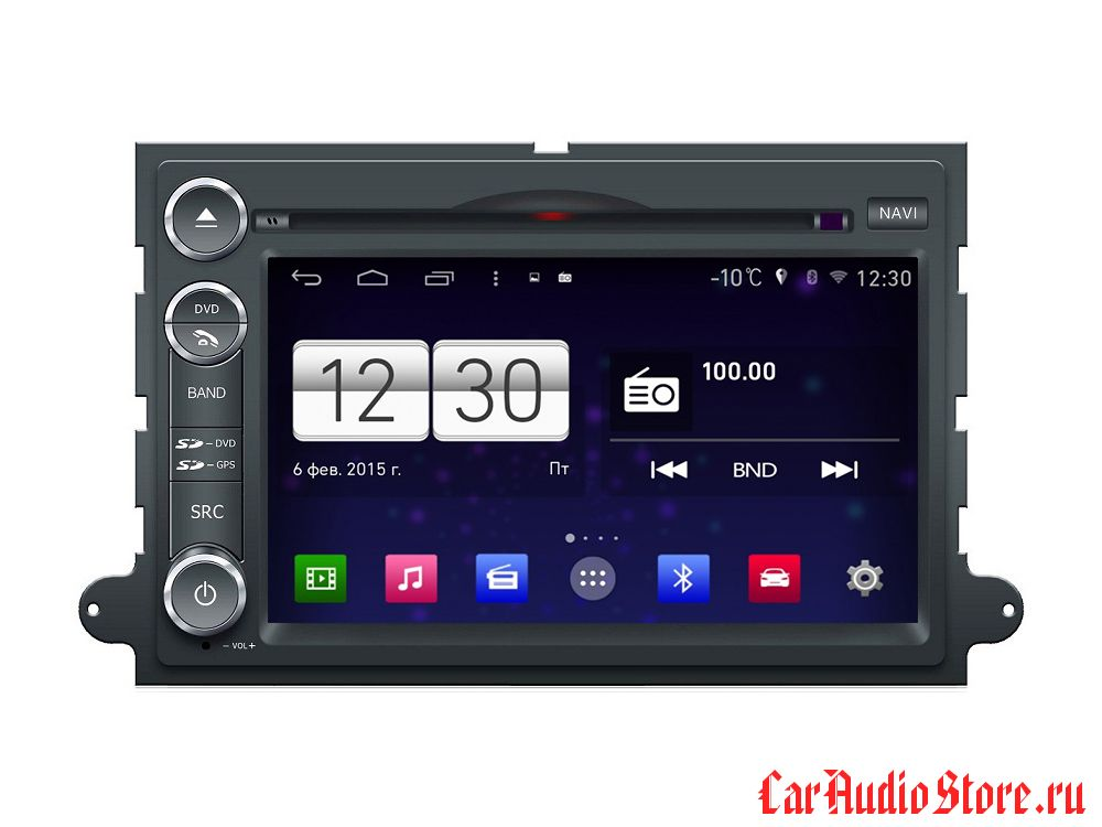 FarCar s160 для Ford Fusion, Explorer, Expedition, Mustang на Android (m148)