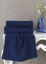 Полотенце махровое REBEKA 50*90 (синий) Арт.2657-13