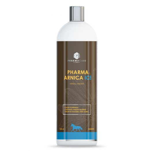 Pharma Arnika Ice охлаждающий линимент с арникой, 1 литр. Благотворно влияет на мышцы и сухожилия.