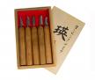 Набор японских резцов 5 шт Akira El-5  для резьбы мелких деталей и геометрической резьбы в деревянной коробке Miki Tool  М00013142