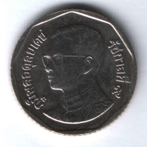 5 батов 2007 г. Таиланд