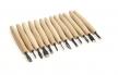 Набор профессиональных японских резцов Seigen для резьбы средних деталей 14шт Miki Tool М00010463