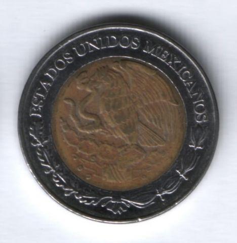2 песо 2004 г. Мексика