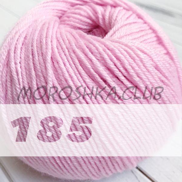 Светло-розовый Baby wool Alize (цвет 185)