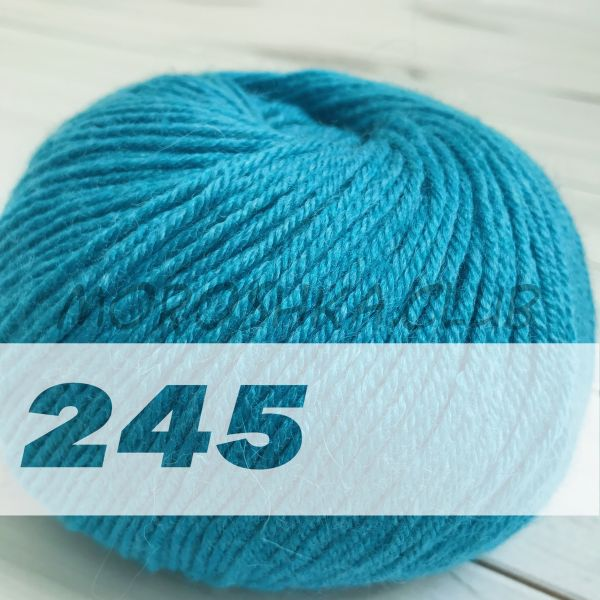 Бирюзовый Baby wool Alize (цвет 245)