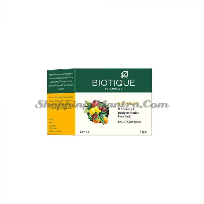 Фруктовая маска для лица против пигментации Биотик | Biotique Bio Fruit Face Mask