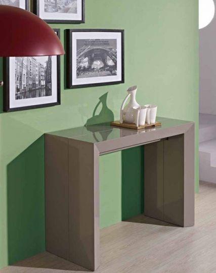 Современный стол консоль-трансформер модель B2316P кофе