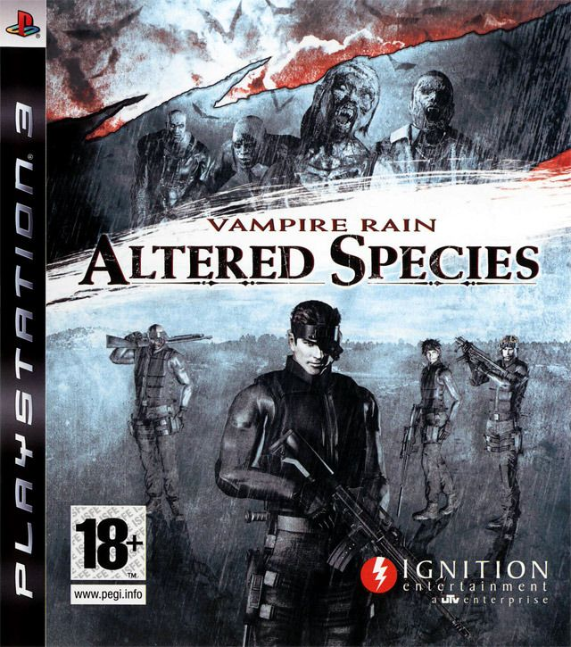 Игра Vampire Rain Altered Species (PS3)