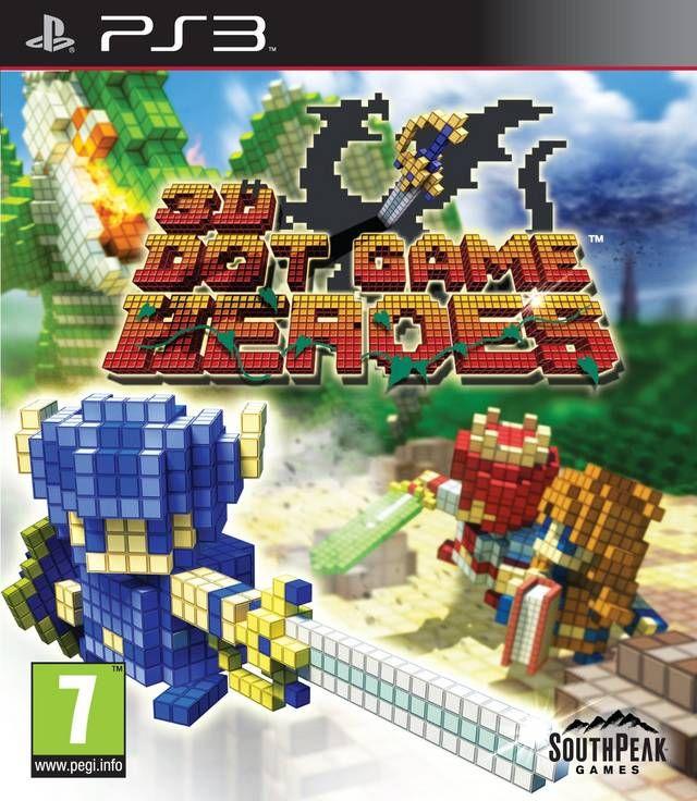 Игра 3D Dot Game Heroes (PS3)