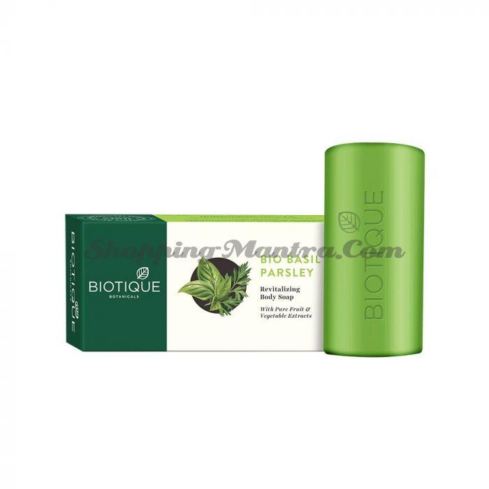 Мыло для тела Биотик Базилик&Петрушка | Biotique Basil&Parsley Body Soap