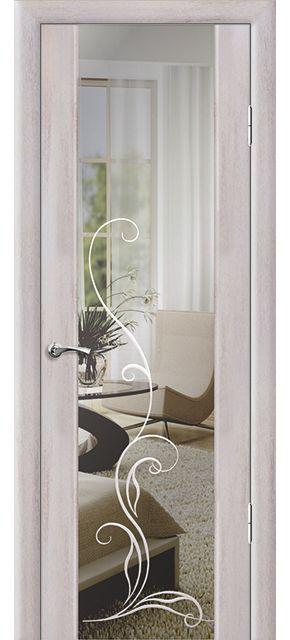 Дверь Люкс 1 с гравировкой