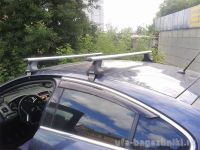 Багажник на крышу Opel Insignia, Атлант, аэродинамические дуги, опора Е