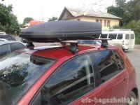 Багажник на крышу Volkswagen Golf 5, Атлант, аэродинамические дуги