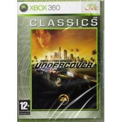 Игра Need for Speed Undercover (Xbox 360)