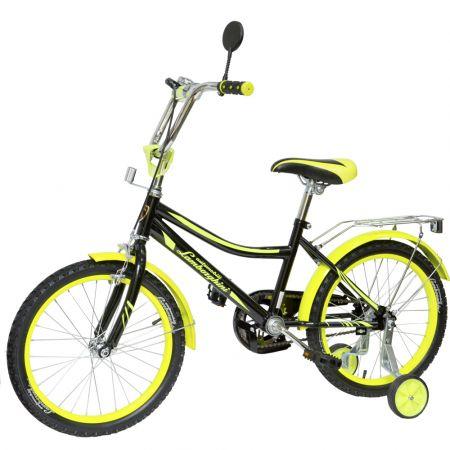 "Велосипед ""Lamborghini""страх. колёса,передние ручные тормоза, диаметр колес 18"""