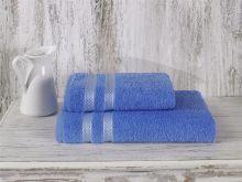 Полотенце махровое PETEK 50*100 (голубое) Арт.2146/1