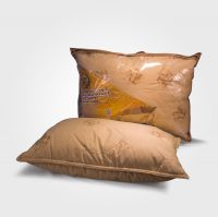 Подушка с верблюжьей шерстью-полиэстер