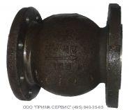 .Клапан обратный 19с63нж Ду100мм Ру 4,0 МПа