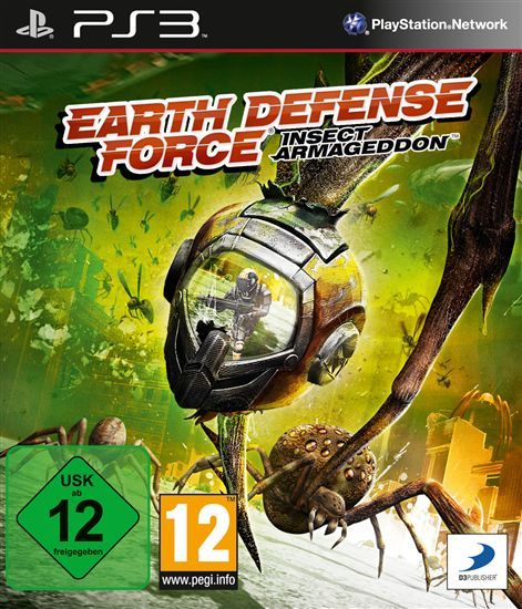 Игра Earth Defense Force Insect Armageddon (PS3)
