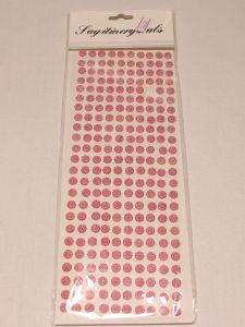 `Полубусины на листе, самоклеящиеся, диаметр 8 мм, Арт. Р-СТ0002