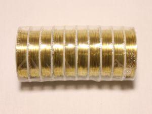 `Проволока 0,4 мм*12м, золото