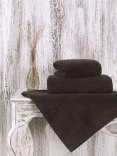 Полотенце микрокоттон MORA  70*140 см. (коричневый) Арт.2625-1