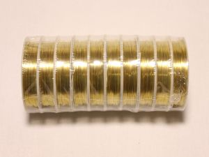 `Проволока 0,3 мм*12м, золото