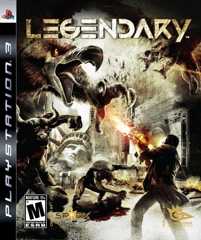 Игра Legendary (PS3)