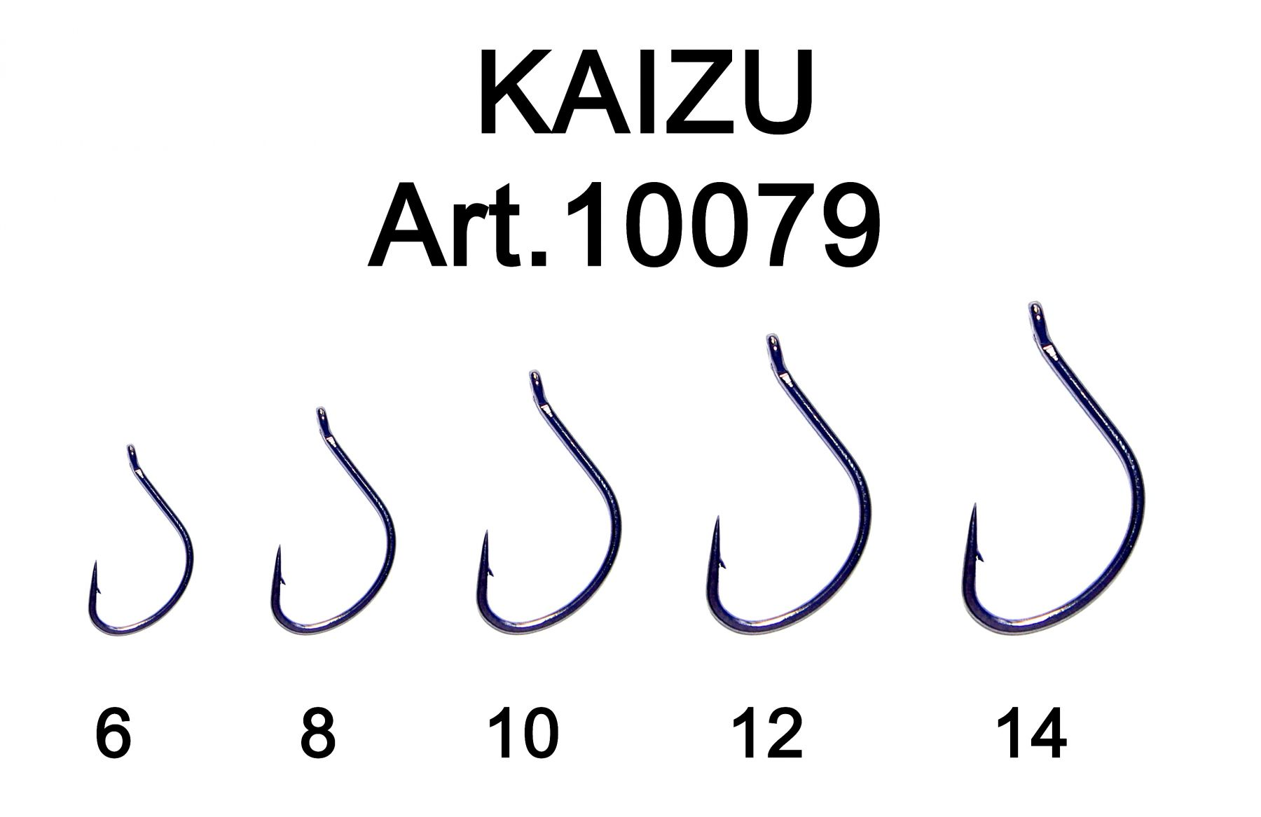 Крючок Fish Season FS Kaizu одинарные   (Артикул:10079) №6