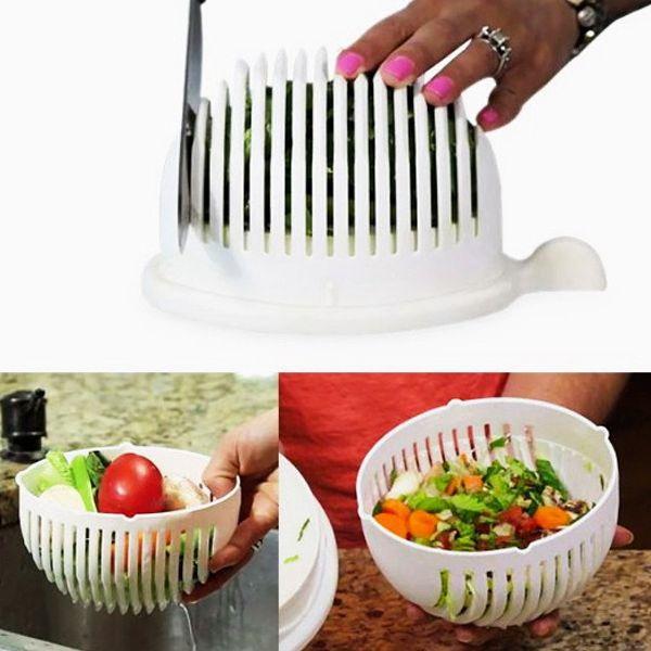 """Картинки по запросу Салатница-овощерезка 2 в 1 """"Salad Cutter Bowl"""""""