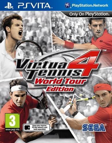 Игра Virtua Tennis 4 Мировая серия (PS Vita)