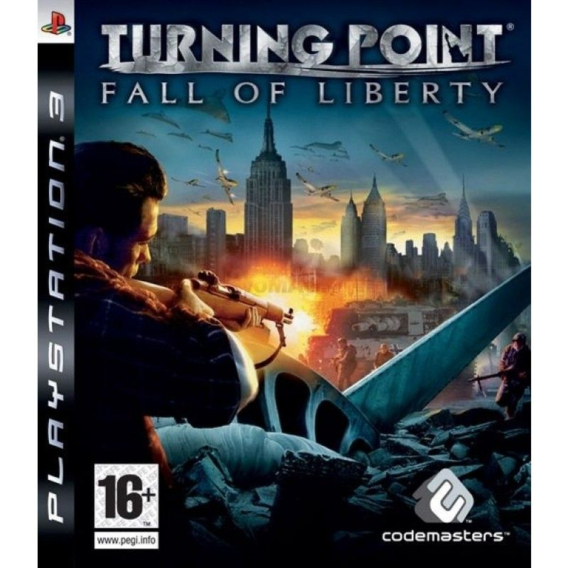 Игра Turning Point Fall of Liberty (PS3)